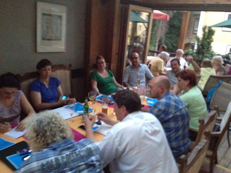 Treffen der LEV-Kita mit dem STEB Jena